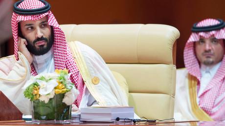 Er soll hinter dem Plan stecken: Saudi-Arabiens Kronprinz Mohammed bin Salman (l.) während des 29. Arabischen Gipfels in Dhahran, Saudi-Arabien, am 15. April 2018.