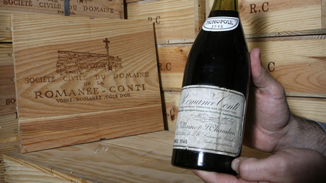 Weltrekord bei Weinauktion in New York – 558.000 US-Dollar für Romanée Conti 1945 (Archivbild)