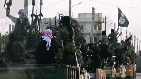 IS-Kämpfer in Syrien (Archivbild)
