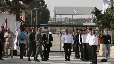 Der Grenzübergang in Quneitra zu den von Israel besetzten Golanhöhen wurde am Montag wiedereröffnet.