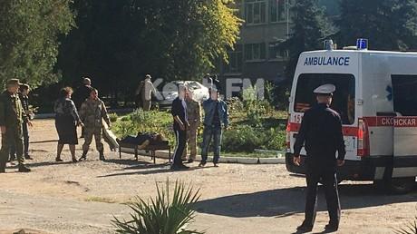 Blutbad in Fachschule auf Krim: 19 Tote, 40 Verletzte, Täter begeht Selbstmord