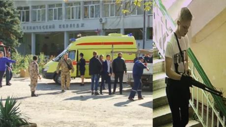 Ein Bild des Angreifers, Wladislaw Roslyakow, aufgenommen von Überwachungskameras.