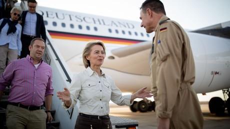 Verteidigungsministerin Ursula von der Leyen am 15. September 2018 in Jordanien