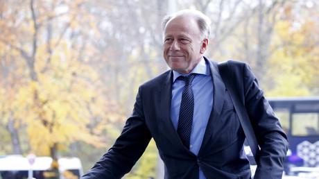 Jürgen Trittin während der später gescheiterten Jamaika-Verhandlungen im November 2017