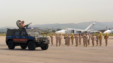 Russlands Verteidigungsminister zieht Bilanz nach drei Jahren Einsatz in Syrien (Archivbild)