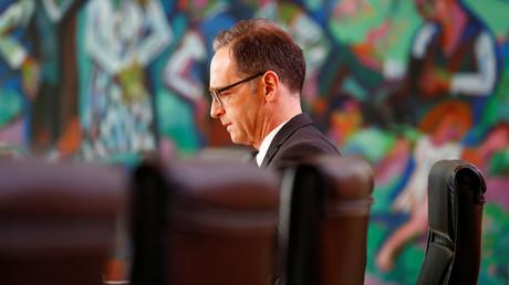 Der Bundesaußenminister Heiko Maas in Berlin, Deutschland, 17. Oktober 2018.