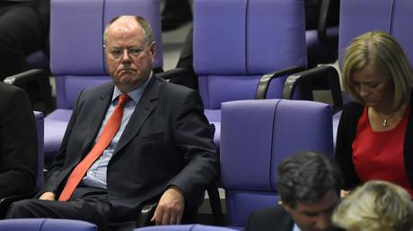 Steinbrück 2015 im Bundestag