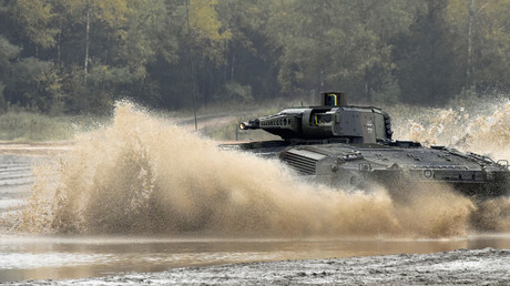 Puma-Panzer der Bundeswehr, Deutschland, 9. Oktober 2015.
