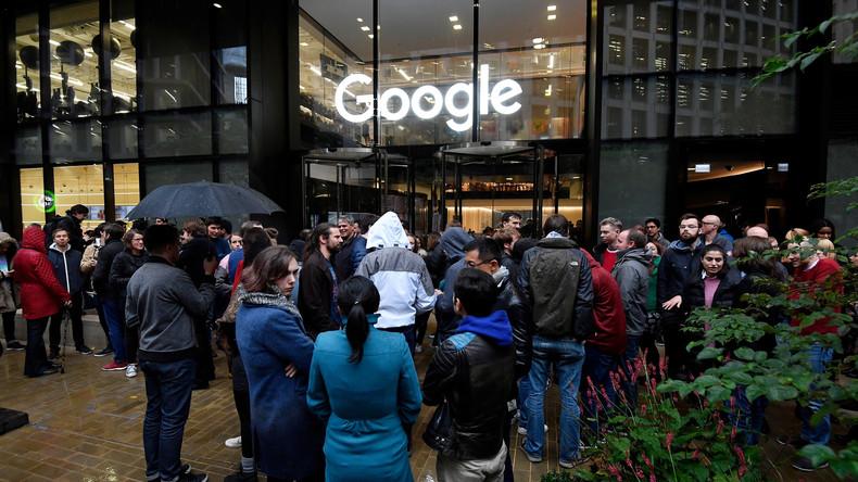 Google-Mitarbeiter protestieren gegen Sexismus im Konzern