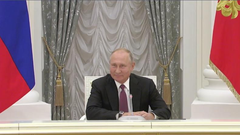 """Putin trifft mit deutschen Unternehmern zusammen: """"Wirtschaft ist unser stärkstes Bindeglied"""""""