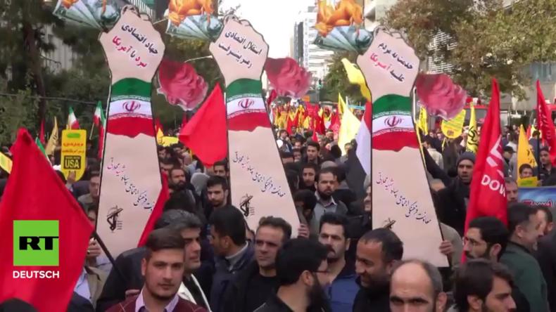 Iran: US-Sanktionen zentrales Thema beim Jahrestag der Botschaftsbesetzung von 1979