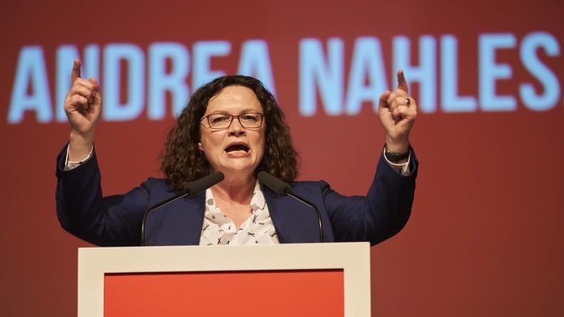 SPD-Chefin Nahles: Kein Sonderparteitag über Zukunft der Großen Koalition