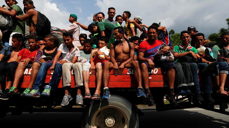 US-Politik für Flüchtlingsströme und Kriminalität in Zentralamerika verantwortlich (Video)