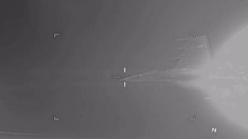 US-Militär veröffentlicht Video: Russischer Jet fängt US-Aufklärungsflugzeug über Schwarzen Meer ab