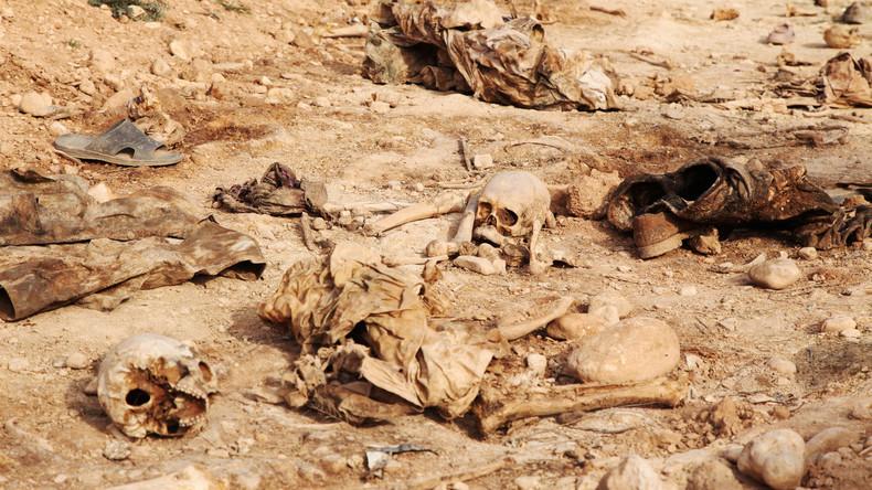 Über 200 Massengräber von IS-Opfern im Irak entdeckt – bis zu 12.000 Leichen