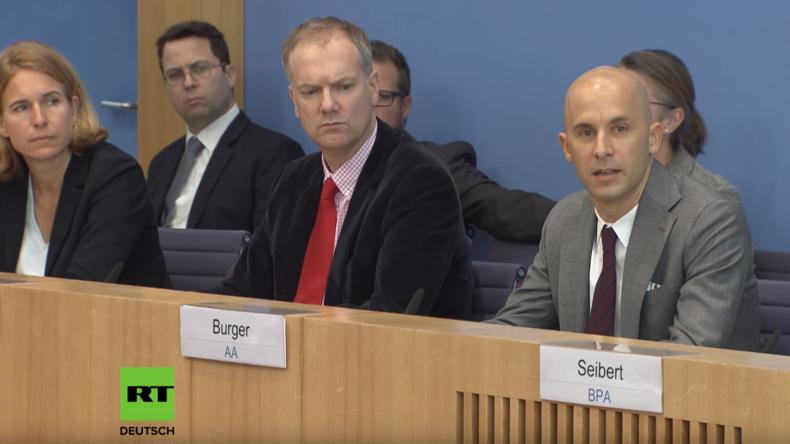 Bundespressekonferenz: Mehr Widersprüche zu Weißhelmen und Tilo Jung als devoter Stichwortgeber