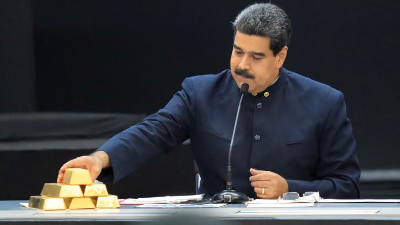 Medienbericht: Venezuela will 14 Tonnen Gold aus Großbritannien zurückführen