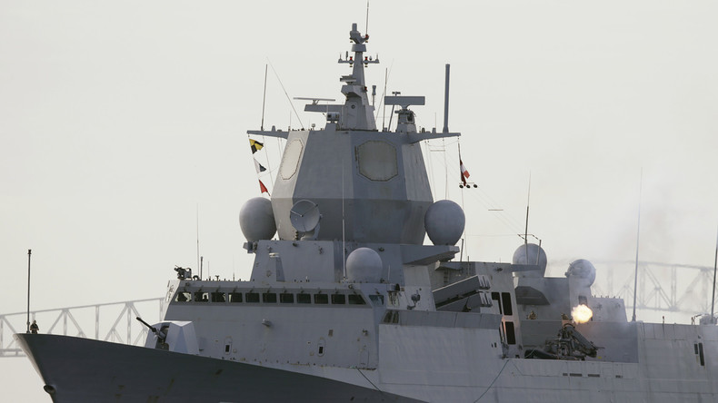 Norwegische Fregatte kollidierte nach Manöver mit Tanker
