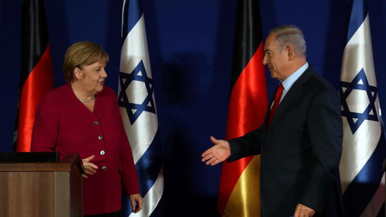 Netanjahu verabschiedet sich schon mal von Merkel: Danke für die Zusammenarbeit