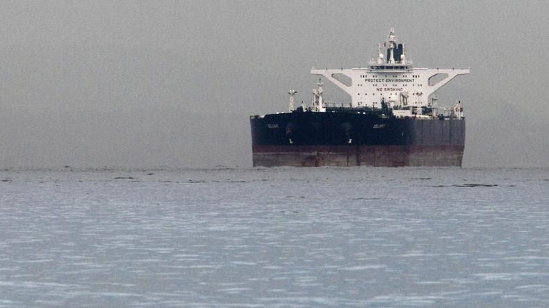 Vorwurf aus Washington: Iranische Öl-Tanker umgehen Sanktionen durch Abschaltung von Transpondern