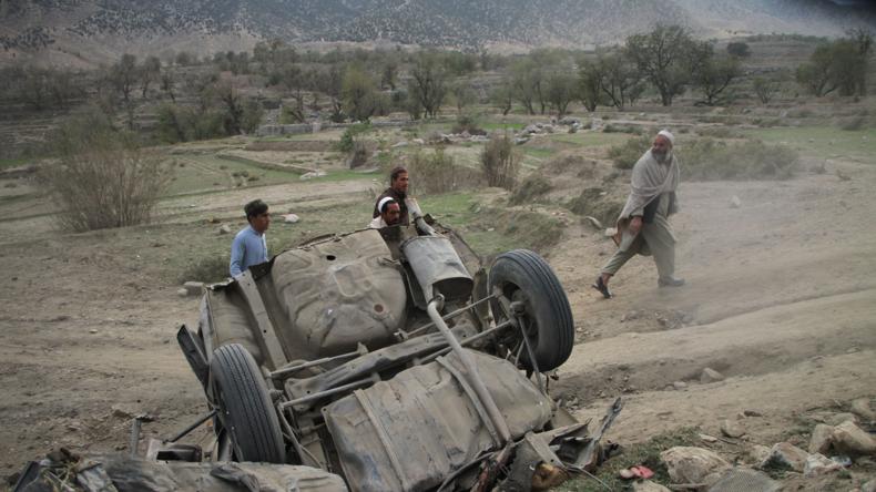 Afghanistan-Krieg: USA lehnen Verhandlungen in Moskau ab (Video)