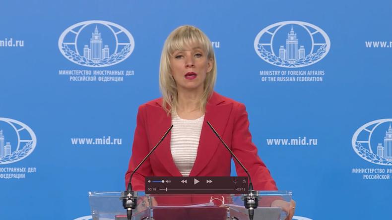Sacharowa: Zweite Runde der US-Sanktionen werden Russland nicht einschüchtern