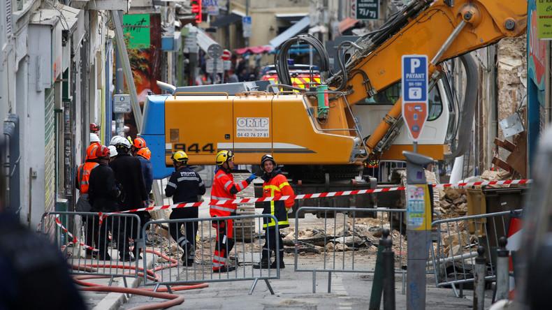 Bereits siebte Leiche nach Häusereinsturz in Marseille gefunden