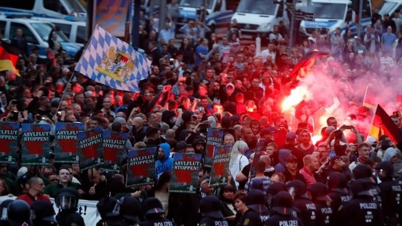 Bericht: Zahl der Teilnehmer an rechtsextremen Protesten verdoppelt