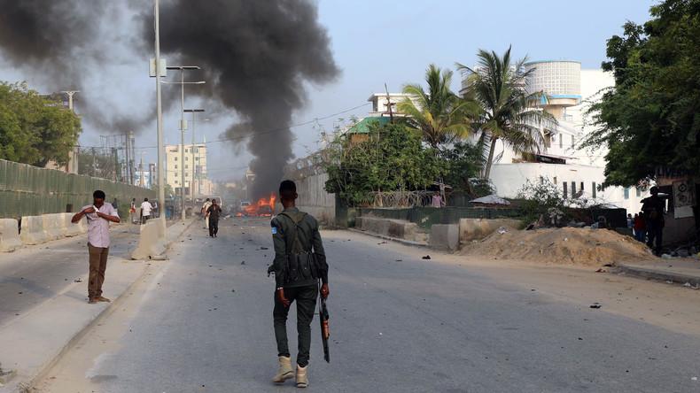 Mindestens 19 Tote bei Bombenanschlag auf Hotel in Mogadischu