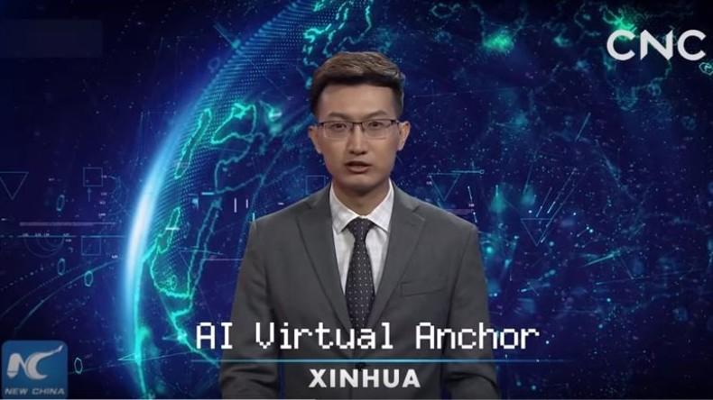 Newsroom der Zukunft: China stellt ersten digitalen KI-gesteuerten Fernsehmoderator vor