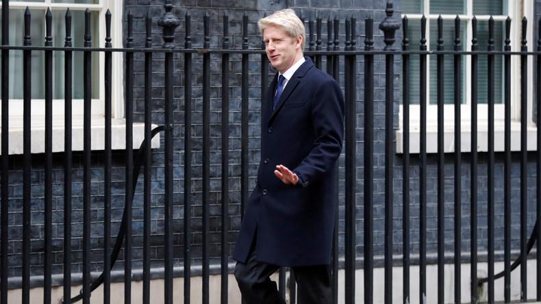 Aus Protest über Brexit-Strategie: Bruder von Boris Johnson verlässt Posten des Staatssekretärs