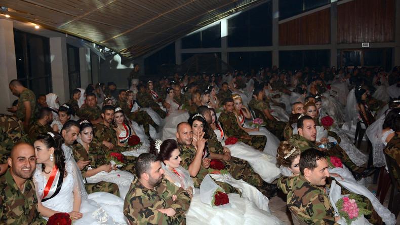 Massen-Hochzeit in Syrien: Behörden trauen gleichzeitig 550 Paare