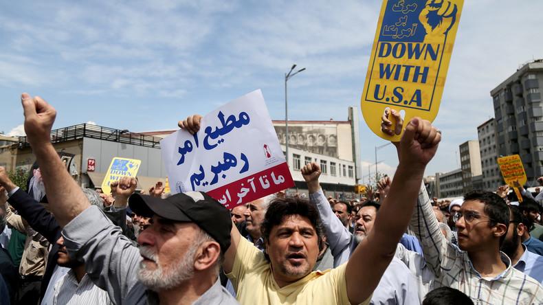 """Pompeo: Iranische Führung muss sich fügen – """"wenn sie will, dass ihr Volk etwas zu essen hat"""""""