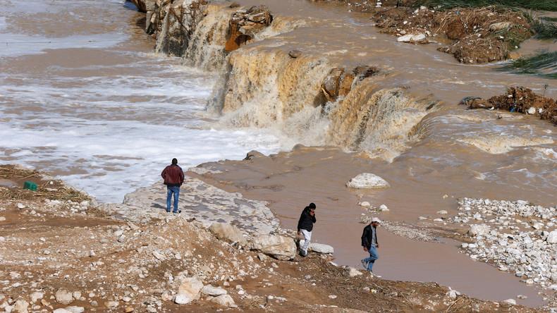 Unwetter in Jordanien fordert mindestens elf Menschenleben
