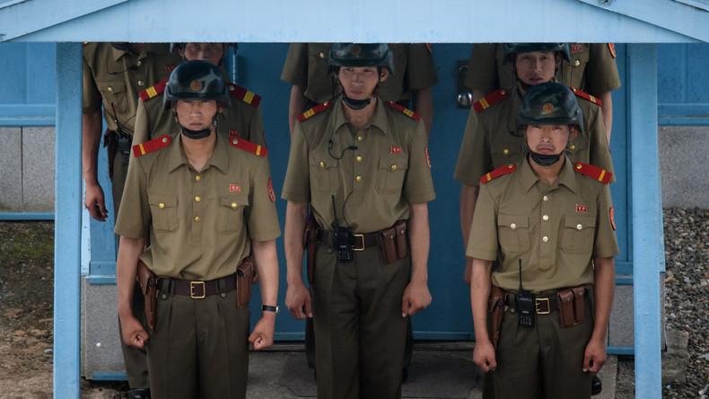 Süd- und Nordkorea ziehen Soldaten und Waffen von Grenzposten ab