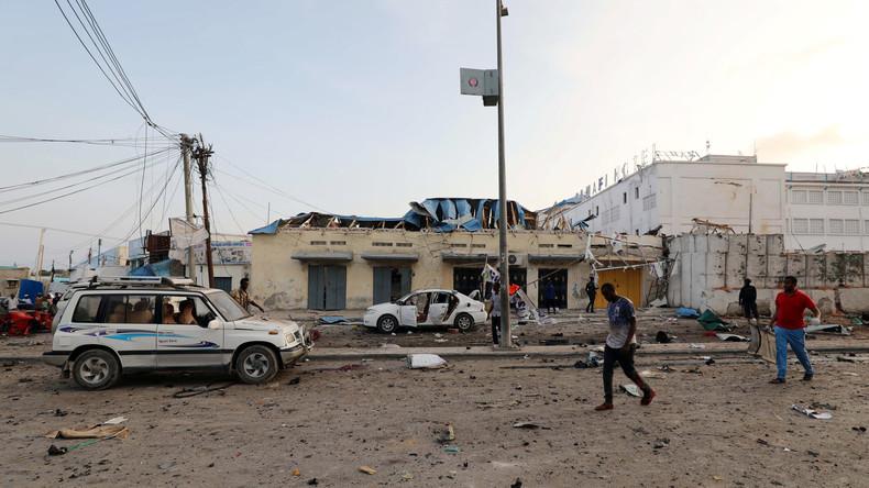 Nach Anschlag auf Hotel in Somalia: Zahl der Todesopfer steigt auf mindestens 50