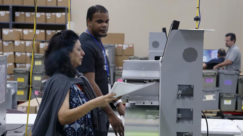 US-Wahlen: Neuauszählung von Stimmen in Florida