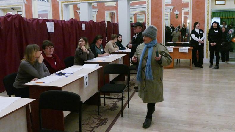 Wahlen in nicht anerkannten Volksrepubliken Donezk und Lugansk