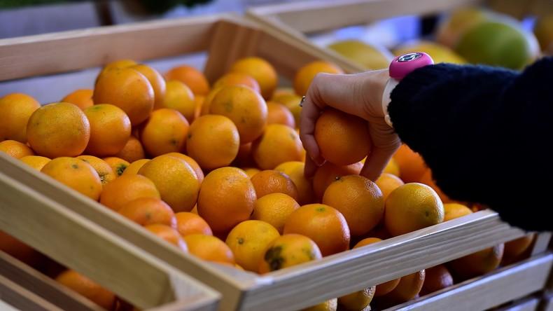 Lebensmittel-Diplomatie: Seoul schenkt Pjöngjang 200 Tonnen Mandarinen