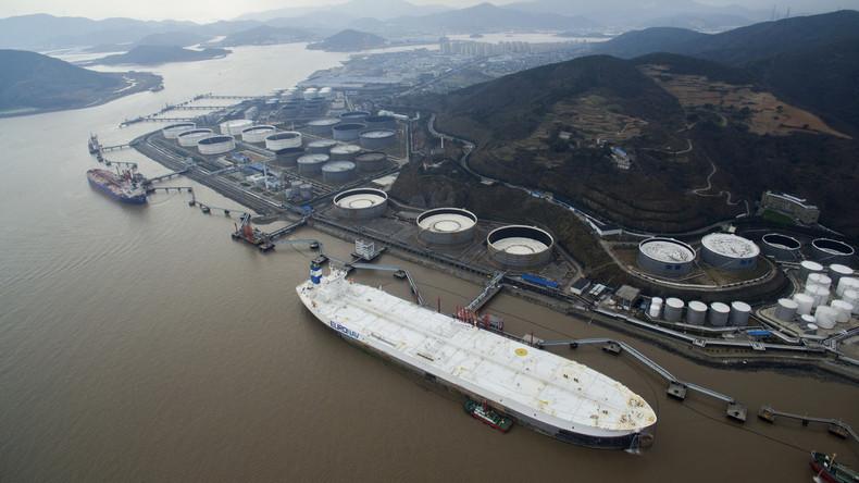 Chinas Ölimporte erreichen Rekordniveau