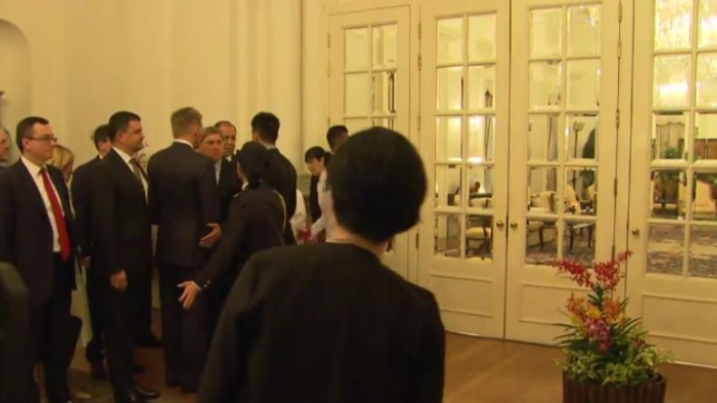 Asean-Gipfel in Singapur: Mitarbeiter lassen russische Delegation nicht in Meetingraum