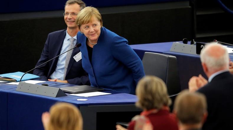 Können USA und EU wirklich Nord Stream 2 verhindern? Merkel verteidigt das Projekt vor EU-Parlament