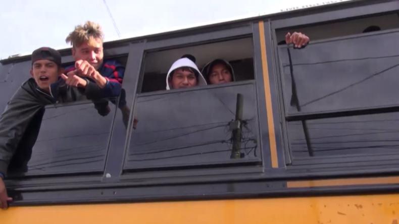 Video aus Mexiko: Erste Gruppe der Migranten-Karawane erreicht US-Grenze bei Tijuana