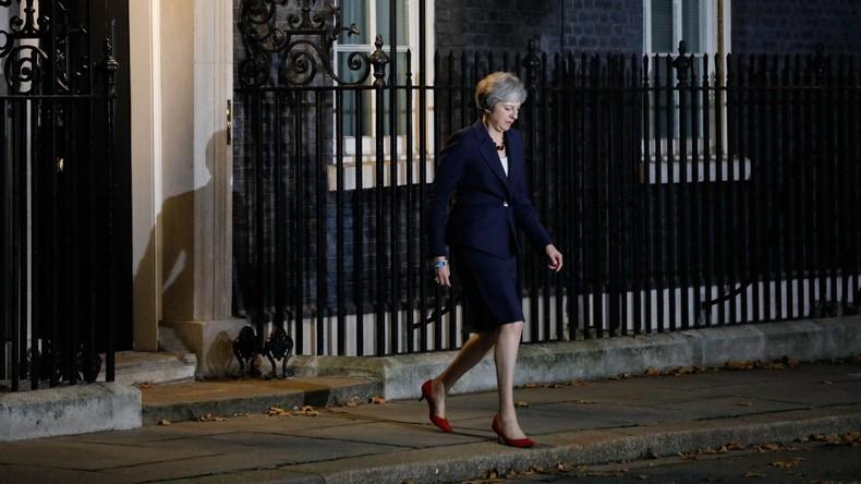 Großbritannien - Regierungskrise wegen Brexit-Vereinbarung