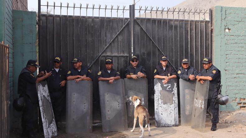 Geiselnahme bei Gefängnisaufstand in Peru