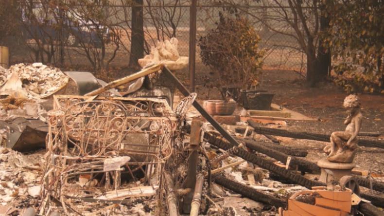 Wie nach der Apokalypse: Kaliforniens Paradise nach der Brandkatastrophe mit Dutzenden Toten