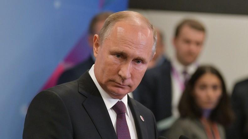 """Putin zur westlichen Kritik an Wahlen im Donbass: """"Zuerst die politischen Morde dort verurteilen"""""""