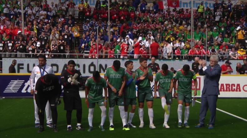 Teilnehmer aus 42 Ländern nehmen an Fußball-WM der Obdachlosen in Mexiko-Stadt teil