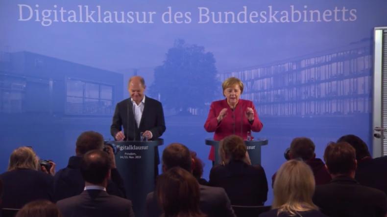 """Deutschland: Merkel """"glücklich"""" mit dem Entwurf des Brexit-Deals"""