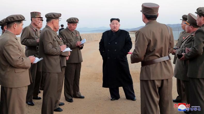 Nordkoreanische Medien geben Tests neuer High-Tech-Waffe bekannt